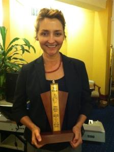 Sharon Millerchip - Winner of Best Actress in a Play - Bombshells